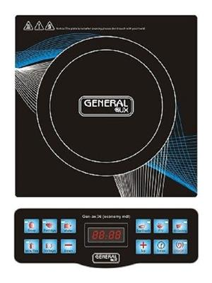 General Aux Koia36 Black Induction Cooktop
