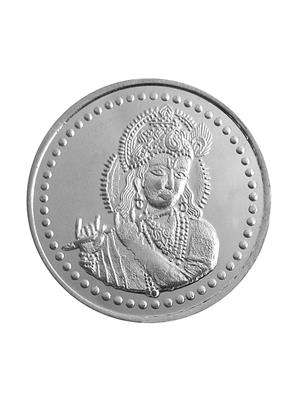 Love Bright Jewelry krishna-om-ag10  White Women Silver Coins