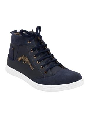 Indian Style Ks13 Blue Unisex Sneakers