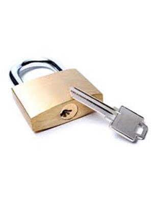 M M TRADERS l11 Brass Golden Small lock