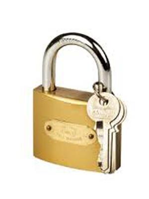M M TRADERS l3 Brass Golden Small lock