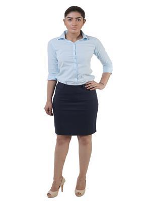 Lee Marc  Ladies Blue Women Skirt
