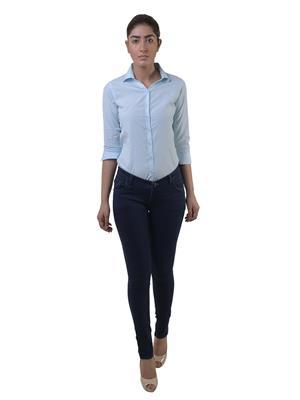 Lee Marc  ladies Dark Blue Women Jeans
