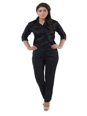 Lee Marc ld Black Women Formal Pant