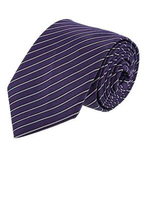 Louis Philippe LPN 13 Purple Mens Necktie