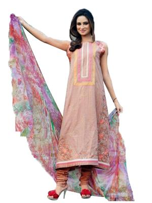 SHAGUFTA EMPORIUM m1 Multicoloured  Women Dress Material