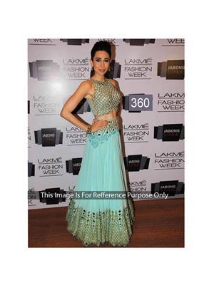 Fashion Hub 360 Blue Women Lehenga Choli