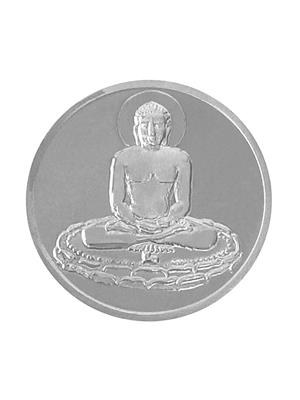 Love Bright Jewelry mahavir-bhagwan  White Women Silver Coins