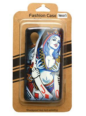 Fashion Case FC2 Black Print Nexus 5  Mobile Case Cover