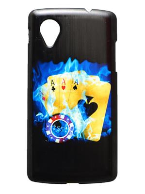 Fashion Case FC9  Black Print Nexus 5  Mobile Case Cover
