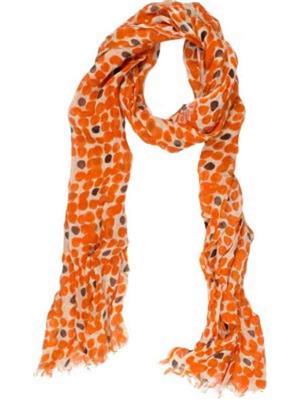 Amaryllis  o2  Orange  Women Scarve