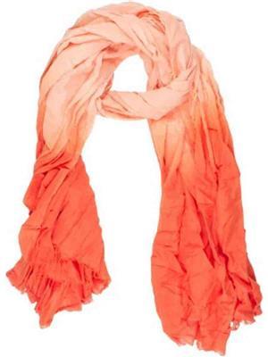 Amaryllis  o3  Orange  Women Scarve