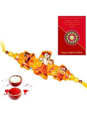 Mewar Handicrafts o7 Orange  Men