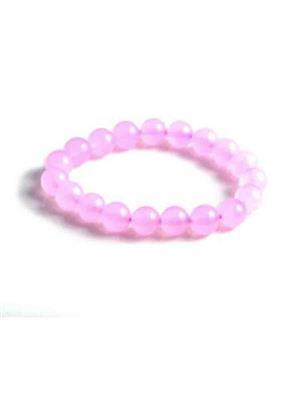 SriRaam Krishna Crystals p3 Light  Pink  Stone Bracelet