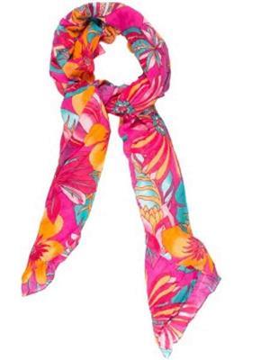 Amaryllis  p3  Pink  Women Scarve