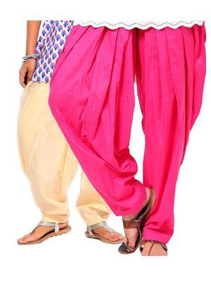 Stylobby Pat-Bep Multicolored Women Patiala Salwar Combo Pack