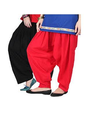 Stylobby Pat-Br Multicolored Women Patiala Salwar Combo Pack