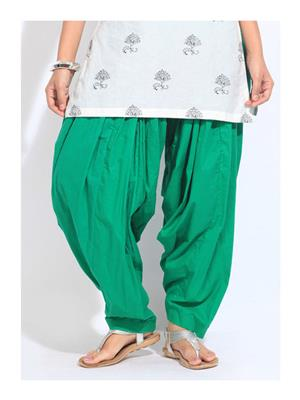 Stylobby Pat-Green Women Patiala Salwar