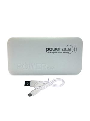 Powerace Power Bank4 White 5200Mah