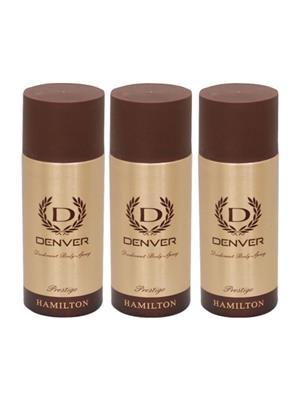 Denver Pres-Pk3 Deodorant Set Of 3