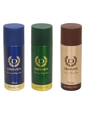 Denver Pride-Hamil-Prest Deodorant Set Of 3