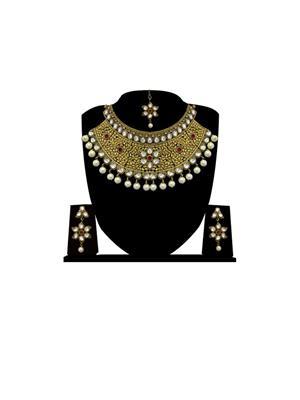 Presha Creation psjewels-04 Multicolored Women Jewellery set