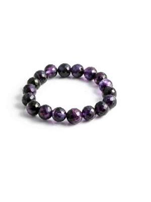 SriRaam Krishna Crystals pu1 Purple  Stone Bracelet