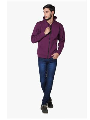 Lee Marc  Purple Men Sweatshirts
