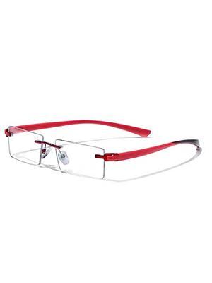 Swashtik r03 Red  Unisex  Eye Frame