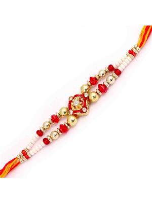 Jain Rakhi r3  Red  Men Rakhi