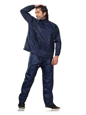 Slr Rain Coat Rc Adult Blue Men Rain Coat