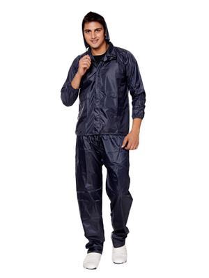 Slr Rain Coat Rc Free Blue Men Rain Coat