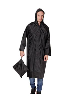 Slr Rain Coat Rc Long Black Men Rain Coat
