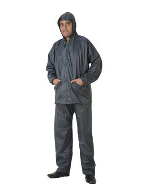 Slr Rain Coat Rc Normal Grey Men Rain Coat