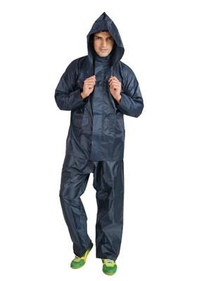 Slr Rain Coat Rc Rock Blue Men Rain Coat