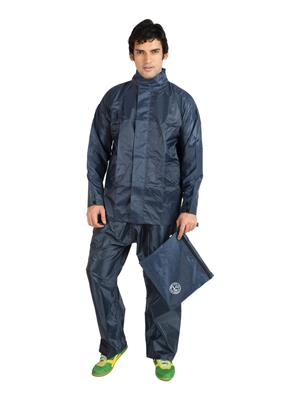 Slr Rain Coat Rc Style Blue Men Rain Coat
