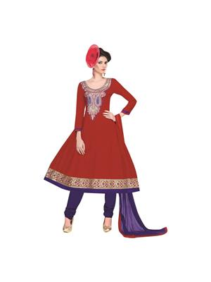 mitali rd4 red dress material