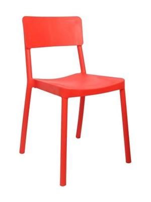 Testo Furniture red1 Red Chair