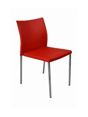 Testo Furniture red2 Red Chair
