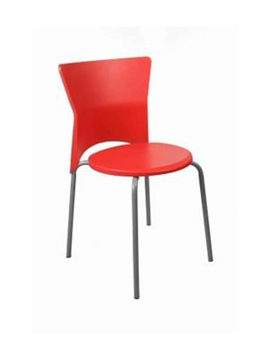 Testo Furniture red3 Red Chair