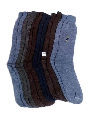 Fablook Rw110012 Multicolored Men Socks Set Of 6
