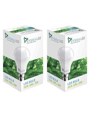 Syska s2  18W LED Bulb Set of 2