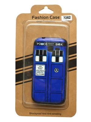 Fashion Case FC34  Blue  Print Samsung Galaxy 7262  Mobile Case Cover