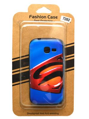 Fashion Case FC23 Blue  Print Samsung Galaxy 7262  Mobile Case Cover
