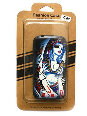 Fashion Case FC14  Black  Print Samsung Galaxy 7262  Mobile Case Cover
