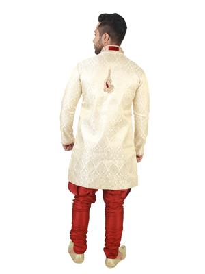 Swarnam  4007 Golden   Mens Ethnic Wear
