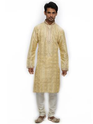 Swarnam 2046 Yellow   Mens Ethnic Wear