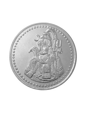 Love Bright Jewelry shiv-shankar-ag10  White Women Silver Coins