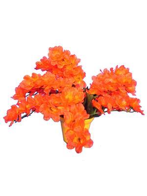 Shivam Shiv261Multicolor Lavender Artificial Flower  With Pot