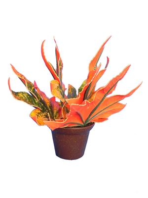 Shivam Shiv262Multicolor Assorted Artificial Flower  With Pot